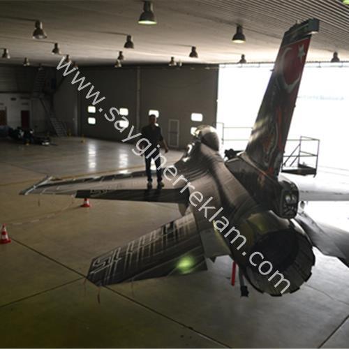 Uçak Folyo Kaplama