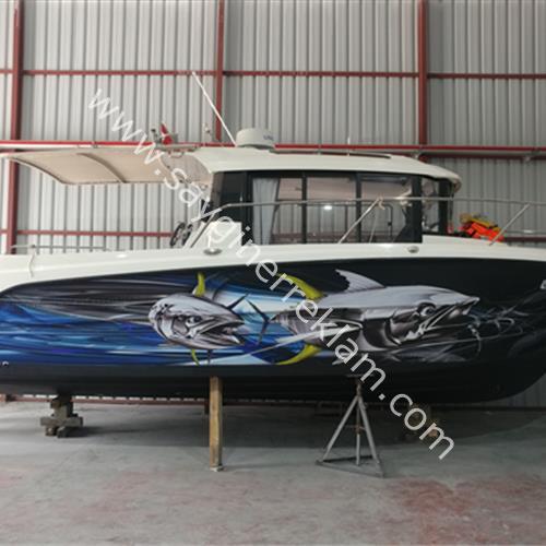 Deniz Araçları Folyo Kaplama