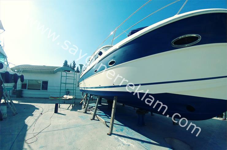 Tekne ve Yelkenli Folyo Kaplama